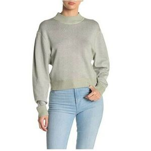 Free People Women's Sweater Top Shimmer Pullover